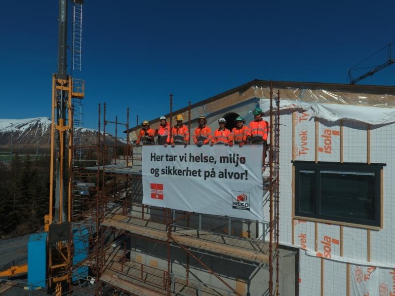 Risøyhamn Skole – Statusoppdatering – En milepæl i prosjektet