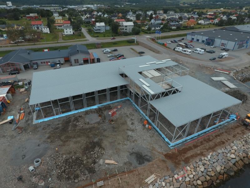 Montering av stål og takplater