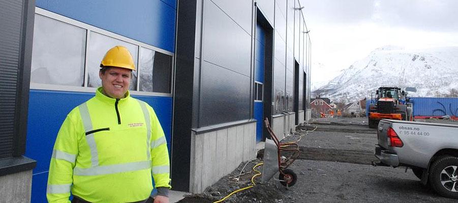 Nytt kontor og lagerbygning til Ottar Bergesen & Sønner as