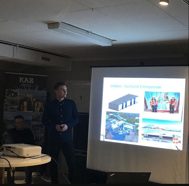 Sortland Entreprenør på UIT-Narvik