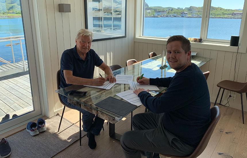 Sortland Entreprenør bygger anlegg for innendørs produksjon av tørrfisk