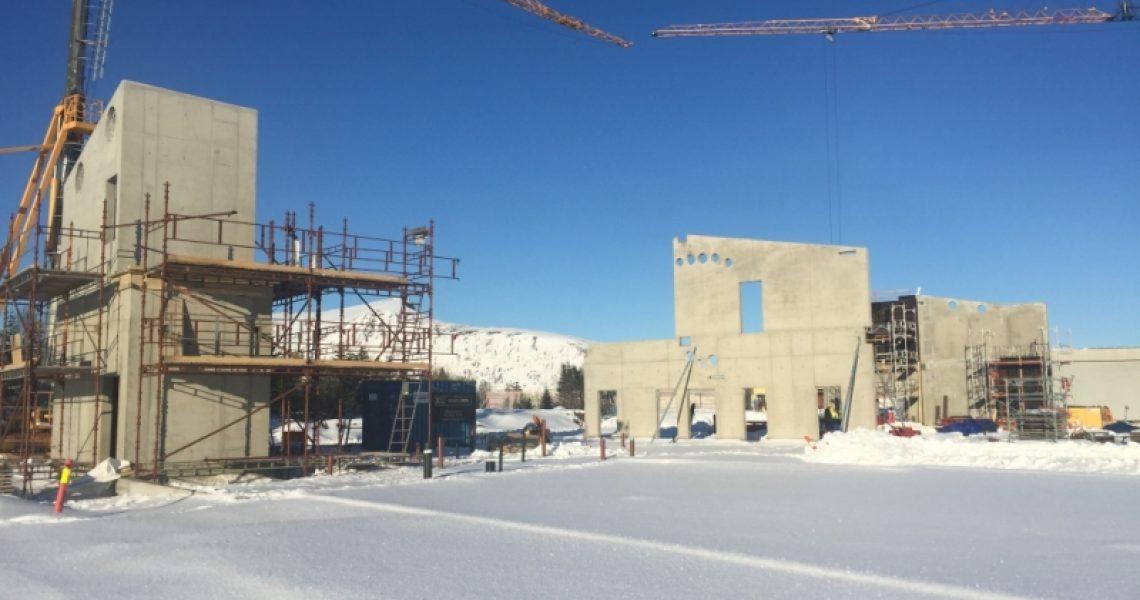 Bilde av en byggeplass