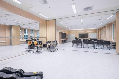 Stokmarknes Skole musikkrom